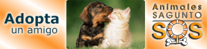 Banner SOS Animales Sagunto Perros en Adopción