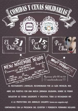 31 de octubre, jornada solidaria en L'Armeler